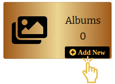album-with-plus-icon